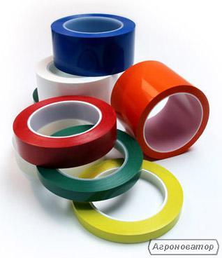 Скотч-стрічка кольорова