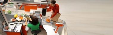 Автоматизация торговли продуктовых магазинов и супермаркетов
