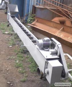 Ленточный скребковый конвейер(транспортер)