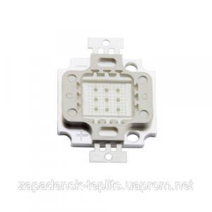Світлодіодна матриця 10Вт LED 620-630nm, червоний