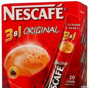 Кава Нескафе 3в1 стік