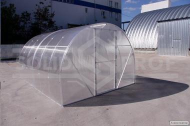 Теплица под поликарбонат с алюминиевым каркасом