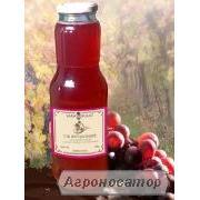 Виноградний сік рожевий