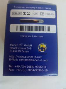 чип для индентификации жывотных