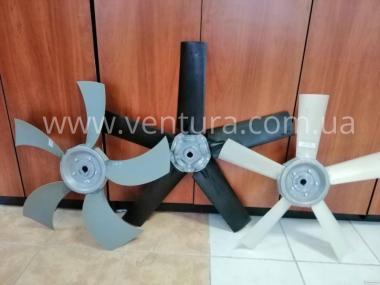 Крильчатка для вентиляторів осьових