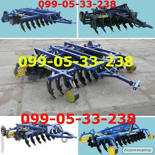 Борона тракторная  АГД – 3,5 Н(полуприцепная)