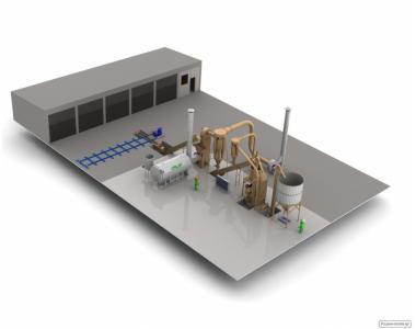 Заводи (лінії) з виробництва добрив, кормів