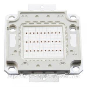 Светодиодная матрица LED 50Вт 450-460nm, синий