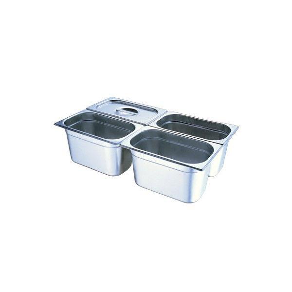 Поддон GASTRORAG 14065 GN 1/4-65 мм, емкость 1,7 л, нерж.сталь