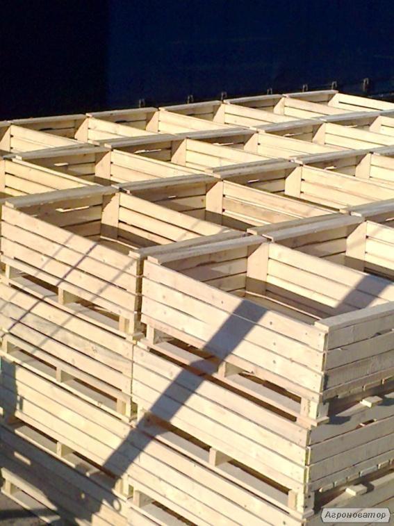 Ящик деревянный (контейнер) для фруктов (груши,яблоки) 1200х800х450