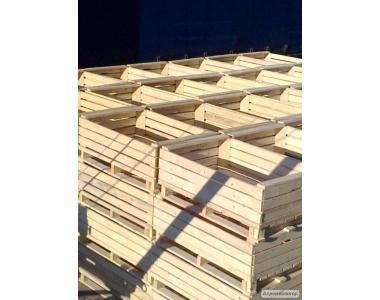 Ящик дерев'яний (контейнер) для фруктів (груші,яблука) 1200х800х450