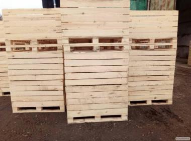 Тара дерев'яна для овочесховищ