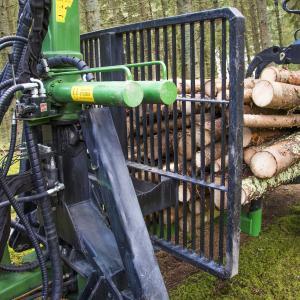 Причіп лісовоз