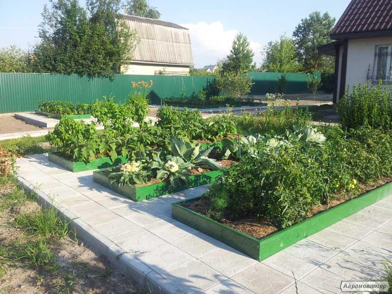 Высокие грядки для органического земледелия  0,17х1х2м