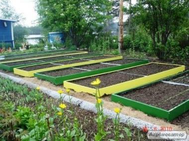 Високі грядки для органічного землеробства 0,17х1х2м