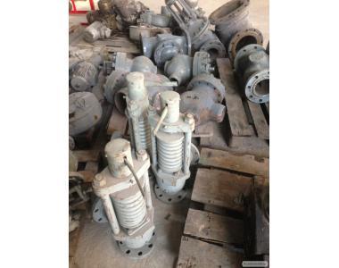 Клапан предохранительный Т-32м1 Ду80 Ру64  Служат для автоматического