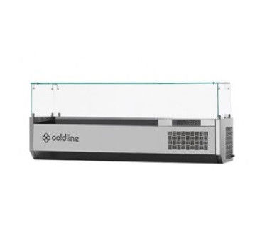 Холодильная витрина-надстройка Coldline VP20/9N