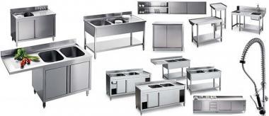 Нейтральное оборудование. Мебель из нержавеющей стали (нержавейка) для Кухни - кафе, бара, ресторана
