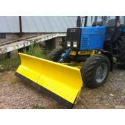 обладнання плужне відвал поворотний сніжний на трактори