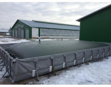 Резервуарный парк для жидких удобрений на 1000м3 под ключ