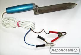 Електроніж Гуслия 40W/12V 23см для розпечатування стільників
