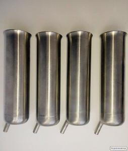 Доїльний стакан з нержавіючої сталі цільний