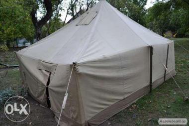 Тенты,навесы брезентовые,палатки армейские любых размеров,пошив