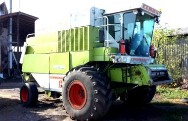 Комбайн Claas Commandor 116 CS (1996)