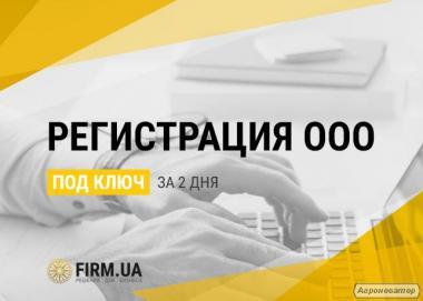 Регистрация ООО / ТОВ в Украине быстро - всего за 2 дня