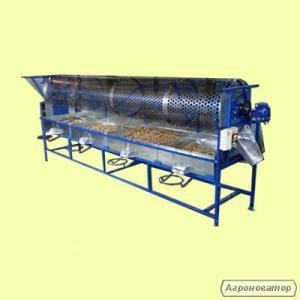 орехокол промышленный линия по переработке грецкого ореха  калибратор