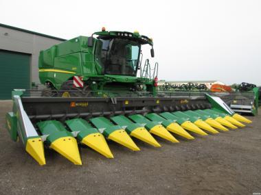 Жатка для прибирання кукурудзи 8 рядів на 70 см. Ziegler