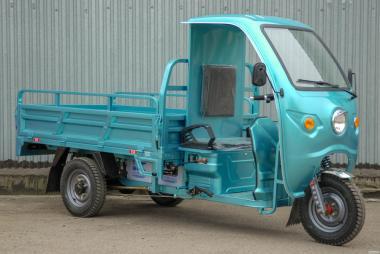Мини грузовик электротрицикл Геркулес-выгодное транспортное средство.