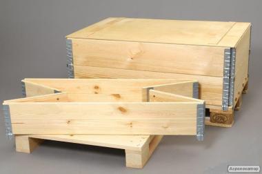 Покупаем жесткие деревянные борты 1200 х 400 х 800