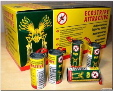 """Липучки от мух """"Ecostripe"""" Чехия"""