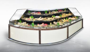 Холодильная витрина Миссури CASCADE (выносной холод)