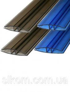 Профиль соединительный Н-образный, цветной, 8 мм