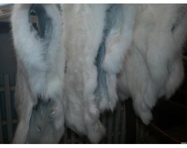 мех кролика, выделанный