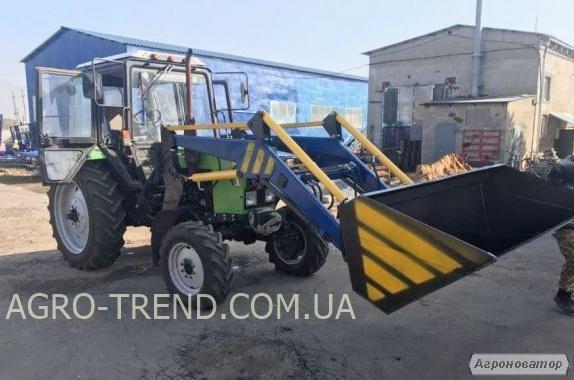 Фронтальний навантажувач КУН для тракторів МТЗ, ЮМЗ, Т-40.