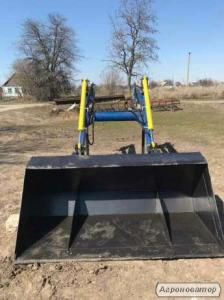 Фронтальный погрузчик кун для тракторов МТЗ, ЮМЗ, Т-40.