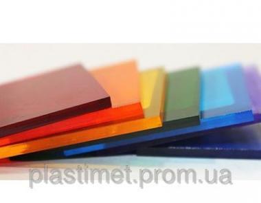 Поликарбонат монолитный, Policam, цветной 4 мм.