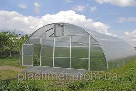 Каркас теплицы фермерской Эконом 6*8*3м под поликарбонат