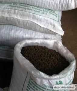 Продам гранулированный куриный помет в 20 кг. мешках по 80 грн.