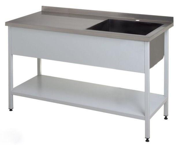 Стол производственный для разделки рыбы КИЙ-В 1300x700