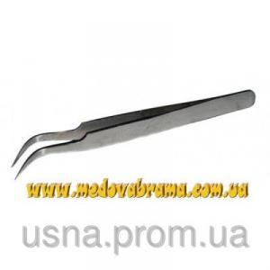 Пинцет металлический для удаления личинок