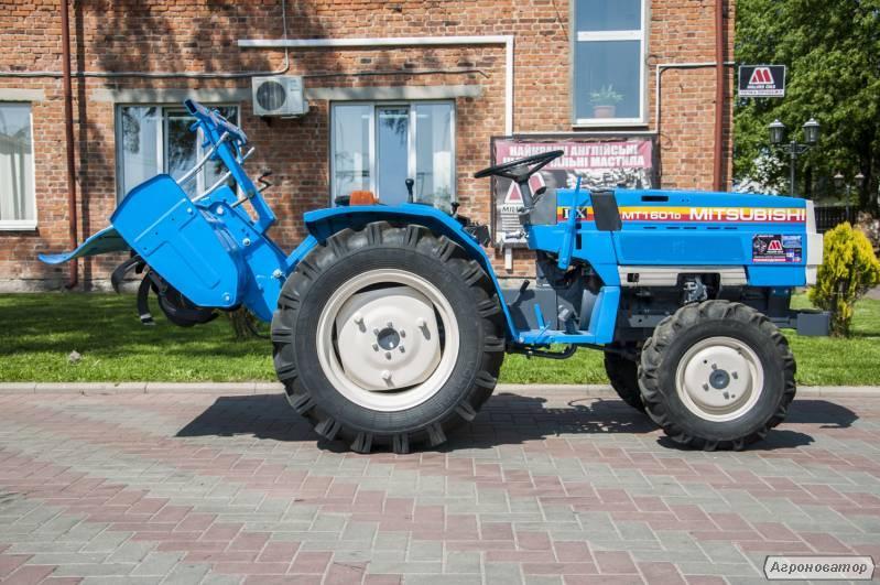 Японский мини трактор с фрезой  Mitsubishi-MT1601D