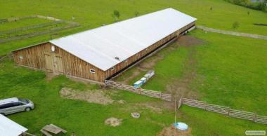 Продаж Ферми Нежитлове Приміщення 1200 м2 Земельна Ділянка 8 Га
