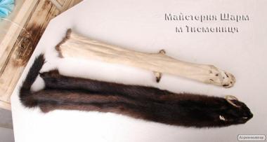 Вичинка фарбування натурального хутра шкур | Вичинка хутра
