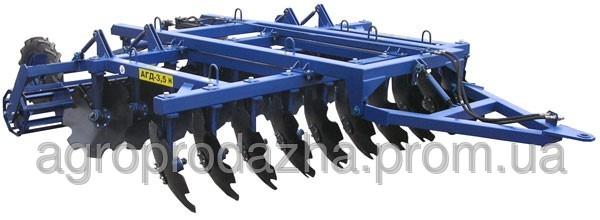 АГД-3.5 М (причіпна), агрегатується з тракторами мтз-1225/т-150к