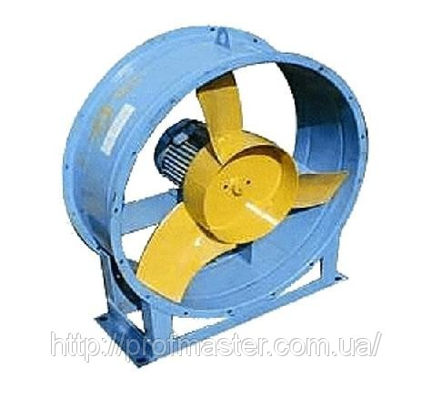 ВО-6-300, вентилятор осьовий ВО, вентилятор ВО-6-300, ВО-12-300