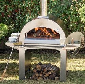 Дровяная печь для пиццы 4 PIZZE Alfa Refrattari